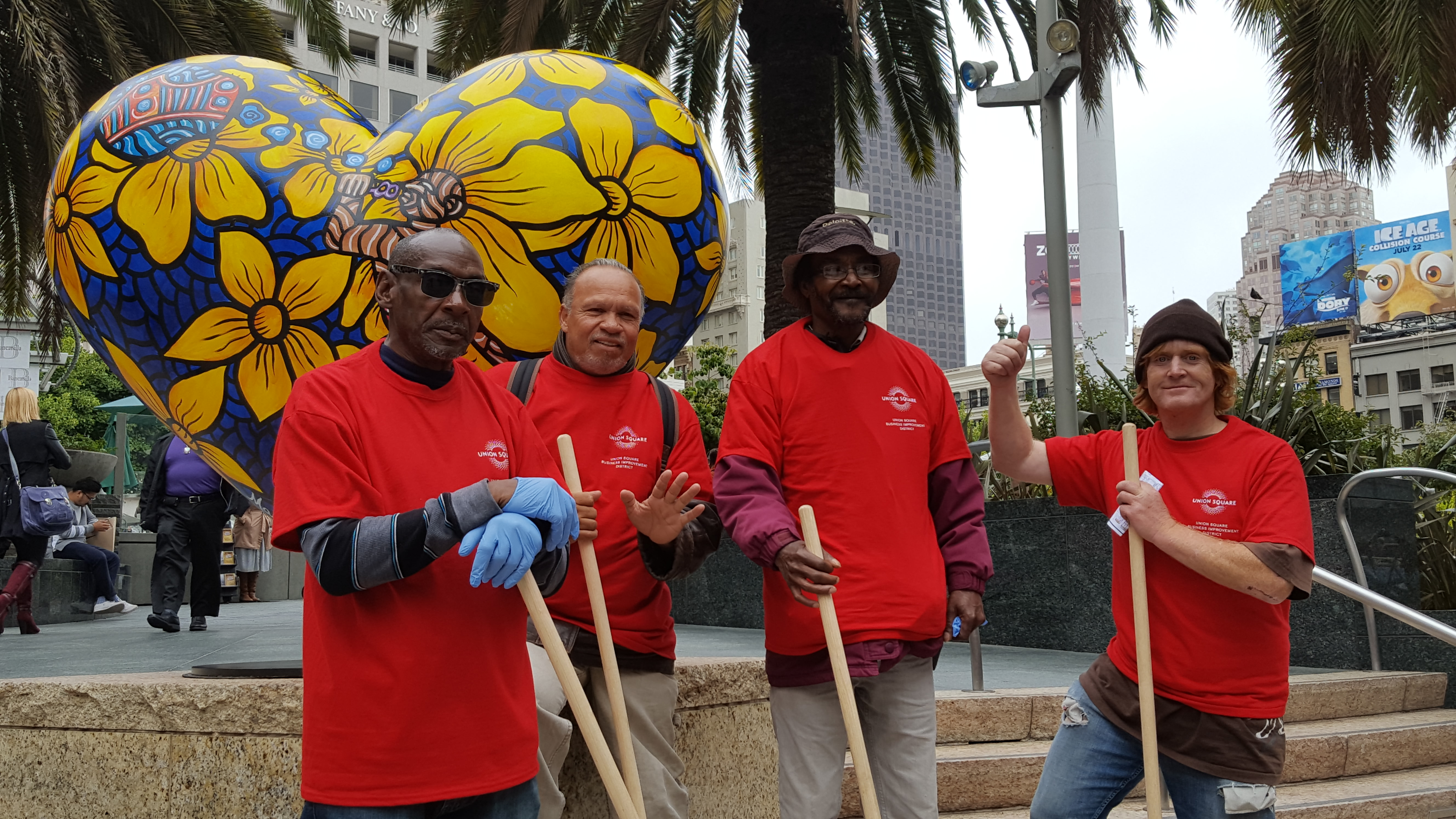Meet the Union Square Downtown Streets Team