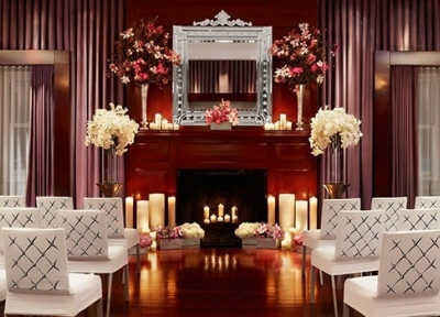 The Clift Hotel Spanish Suite in Union Square, San Francisco