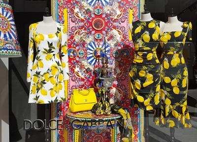 Dolce & Gabbana Spring 2016 Window Display