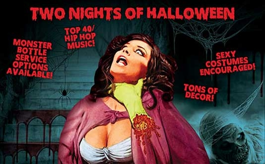Two Nights of Halloween at Slide