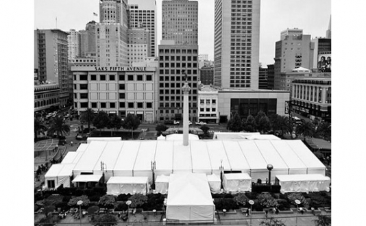 SF Chefs Grand Tasting Tent