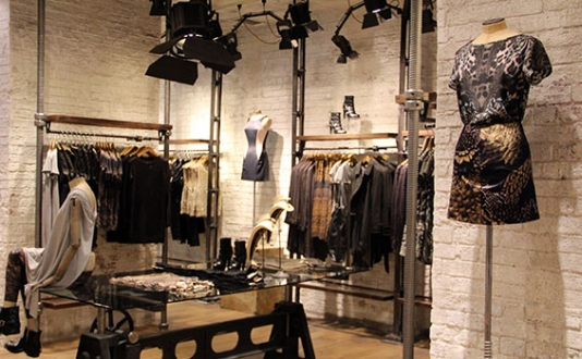 AllSaints, San Francisco, Maiden Ln. SF