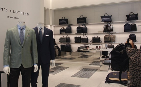 Barneys New Men's Store in Union Square SF
