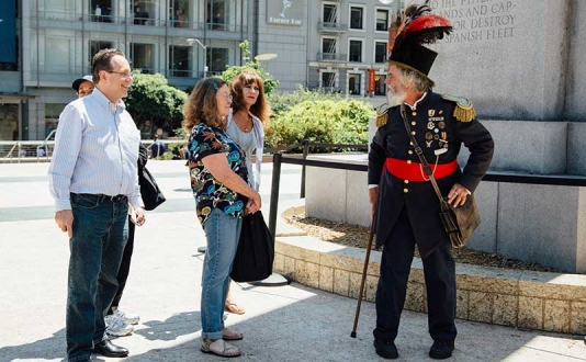 Spend your Spring Break in Union Square with Emperor Norton in San Francisco