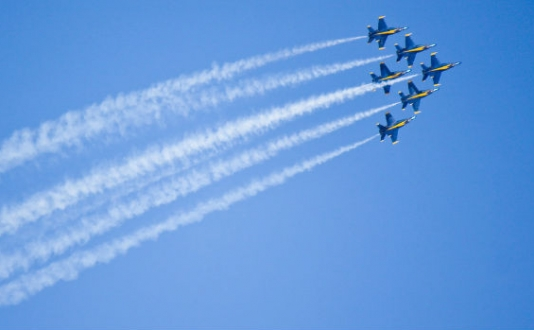 Blue Angels, Fleet Week, SF, San Francisco, Events
