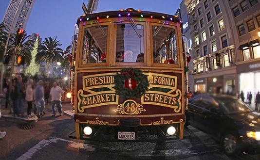 Holiday Cable Car