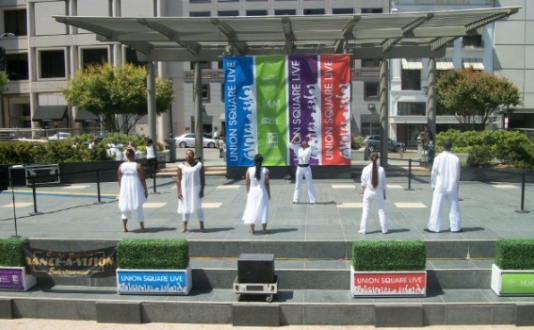 Free Dance Performances in Union Square SF