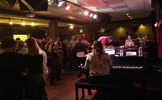Dueling Pianos at Johnny Foley's Irish House