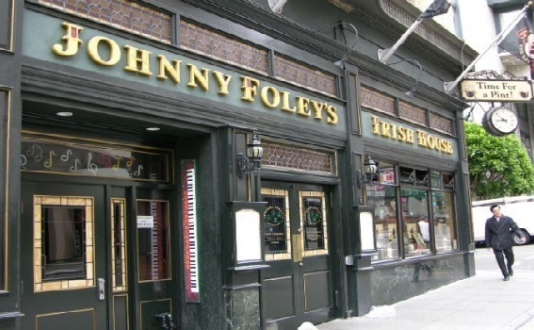 Johnny Foley's Irish Pub in Union Square SF