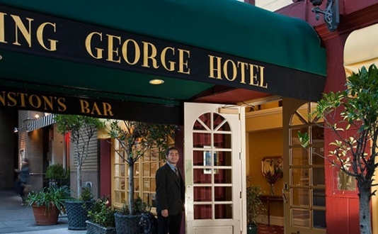 King George Hotel in Union Square SF