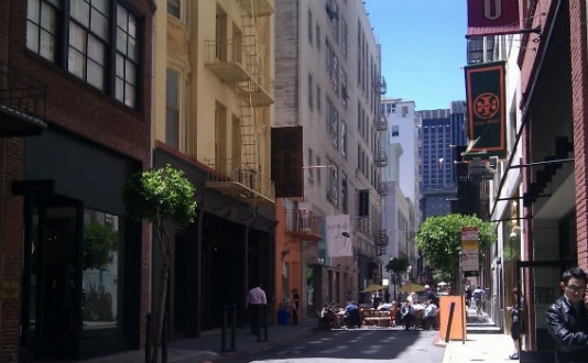 Maiden Lane San Francisco