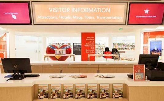 The Visitor Information Center at Macy's