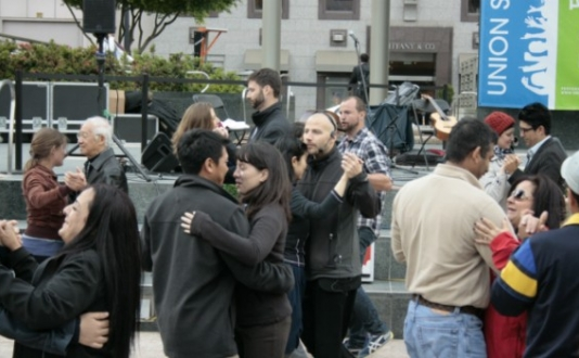 Tango in the Square, Union Square SF Dance Party