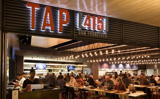Tap 415 in Westfield San Francisco Centre Mall