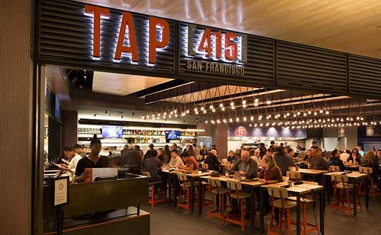 Tap 415 in Union Square, San Francisco
