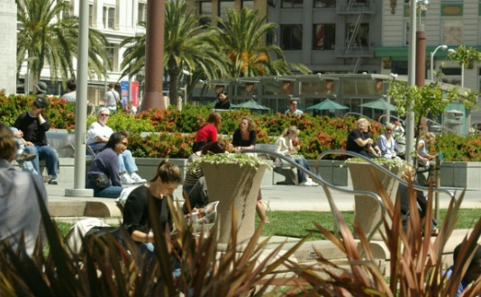 Union Square Park SF