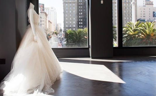 Vera Wang Bridal Boutique in Union Square SF
