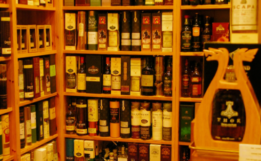 Whisky Shop, Union Square, San Francisco, Sutter St.
