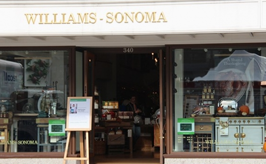 Williams-Sonoma Holiday Shopping Union Square SF