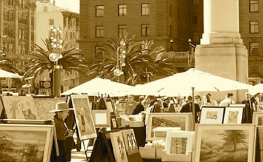 artists on the square