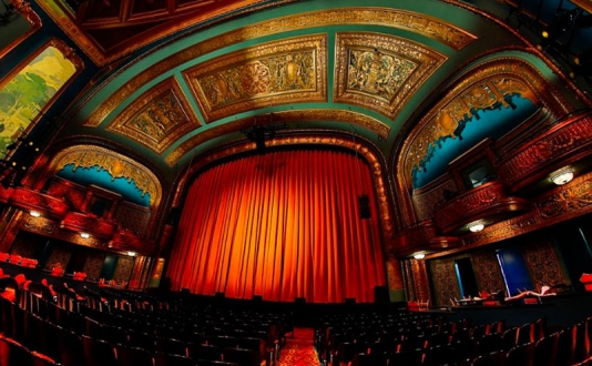 The Curran Theater in Union Square, San Francisco
