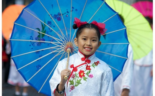 2012 Chinese New Year Parade Girl