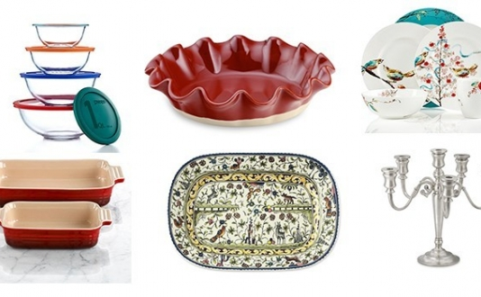 Holiday Finds from Macy's and Williams-Sonoma