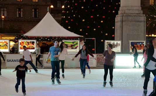 Union Square Holiday Ice Rink