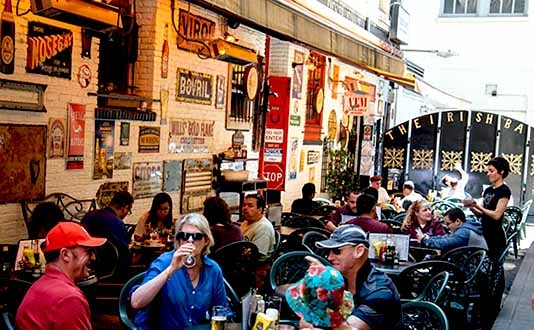 Best places to grab a drink in union square sf visit for Bar food union square san francisco