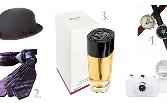 Holiday Gift Ideas from Goorin Bros, Cafe Coton, Diptyque, Paul Smith & Lomography