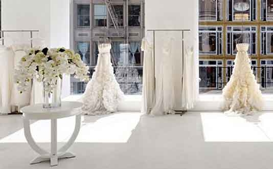 Jin Wang Bridal in Union Square, SF