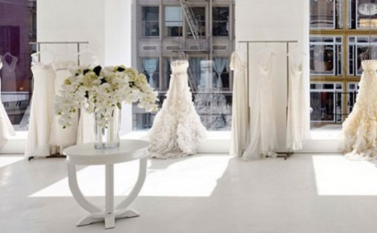 Jin Wang Bridal in Union Square SF