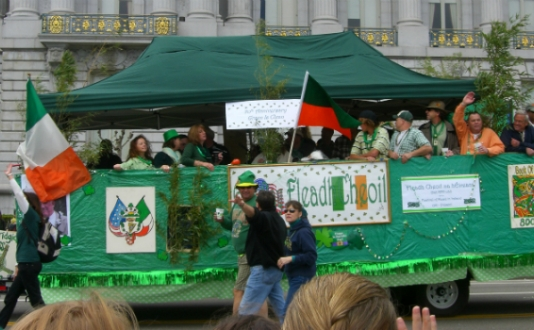 St. Patrick's Day Parade SF