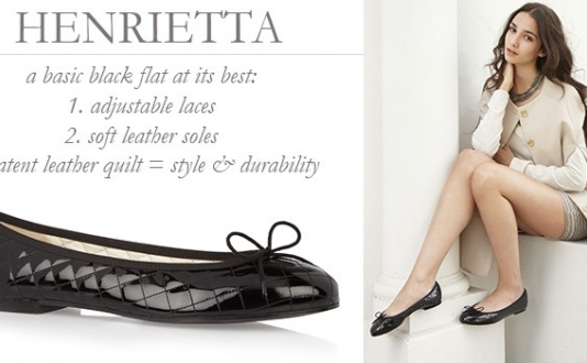 London Sole Henrietta Flats