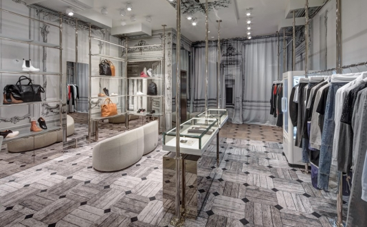Maison Margiela on Maiden Lane in Union Square, San Francisco