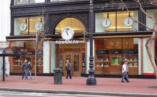 Tourneau in Union Square, San Francisco