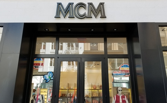 MCM Worldwide in Union Square, San Francisco