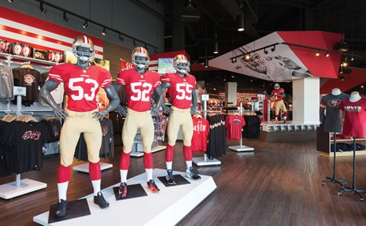 49ers Team Store at Union Square, San Francisco
