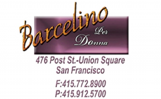 Barcelino Per Donna's in Union Square, San Francisco