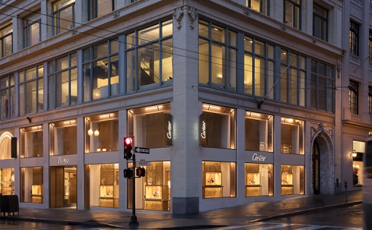 Cartier at Union Square, San Francisco