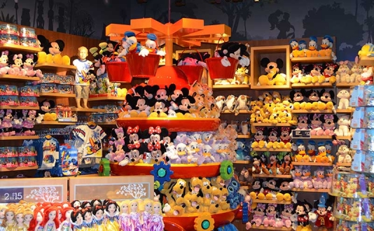 Disney Store in Union Square, San Francisco