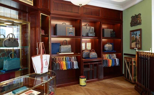 Goyard in Union Square, San Francisco