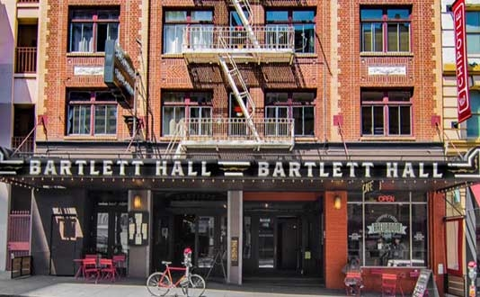 The Bartlett Hotel and Guest House in Union Square, San Francisco