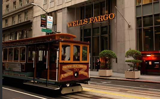 Wells Fargo Bank in Union Square, San Francisco