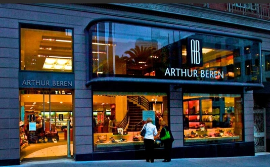 Arthur Beren Shoes in Union Square, San Francisco