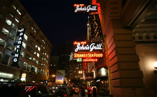 John's Grill at Union Square, San Francisco