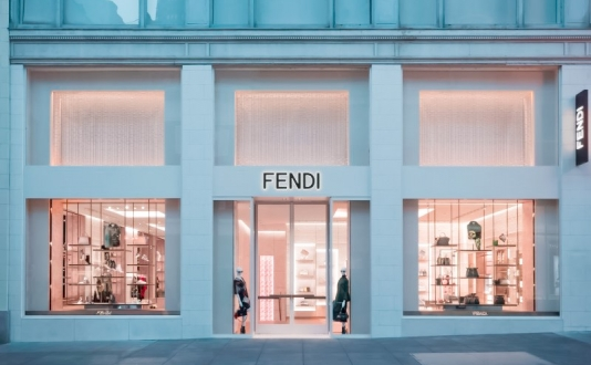 Fendi Boutique in Union Square, San Francisco