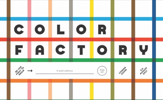 Color Factory in Union Square, San Francisco