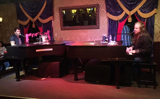 Dueling Pianos at Union Square, San Francisco