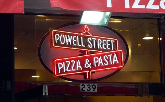 Powell Street Pizza & Pasta at Union Square, San Francisco